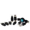 Rotronic Adapter USB Set 9Pcs